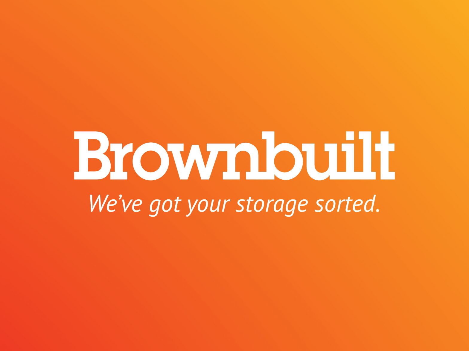 The Brownbuilt Logo and Tagline