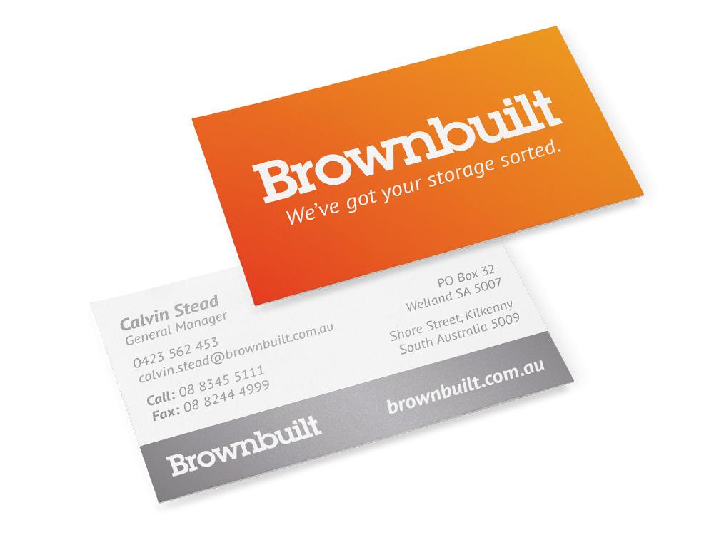 Brownbuilt Business Card