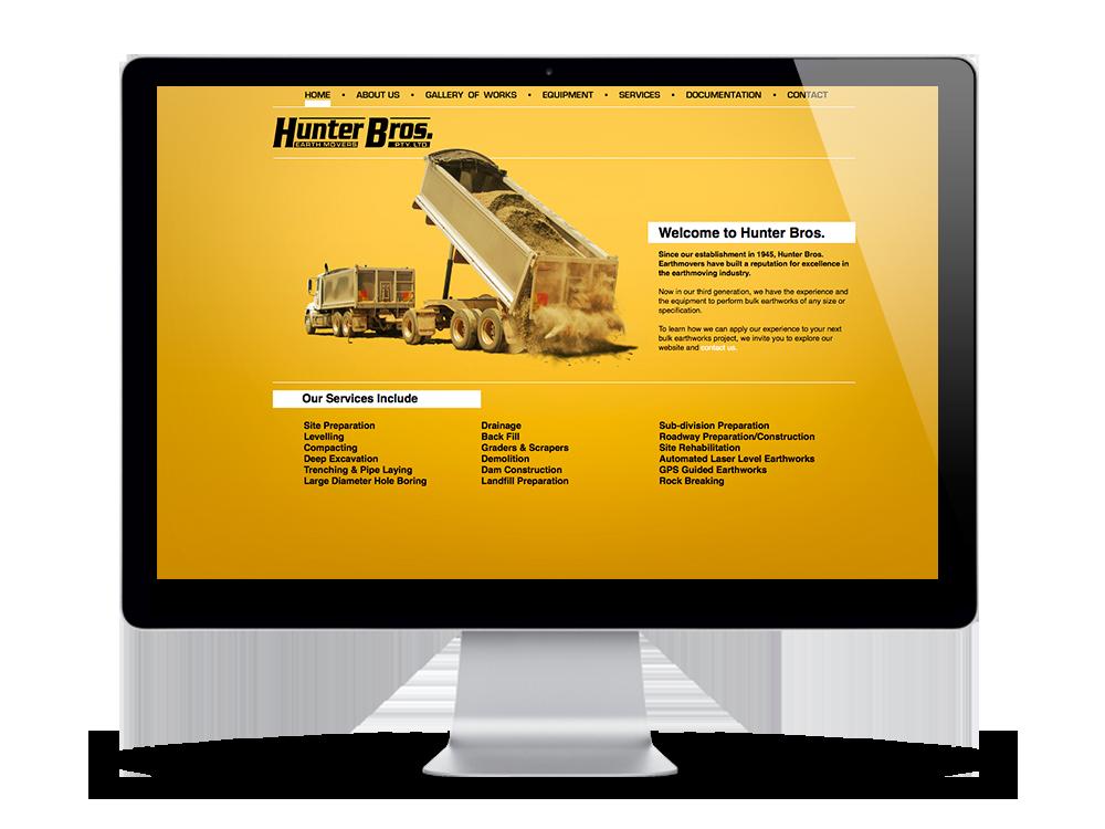 Hunter Bros Website