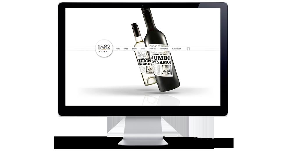 1882 Wines Website