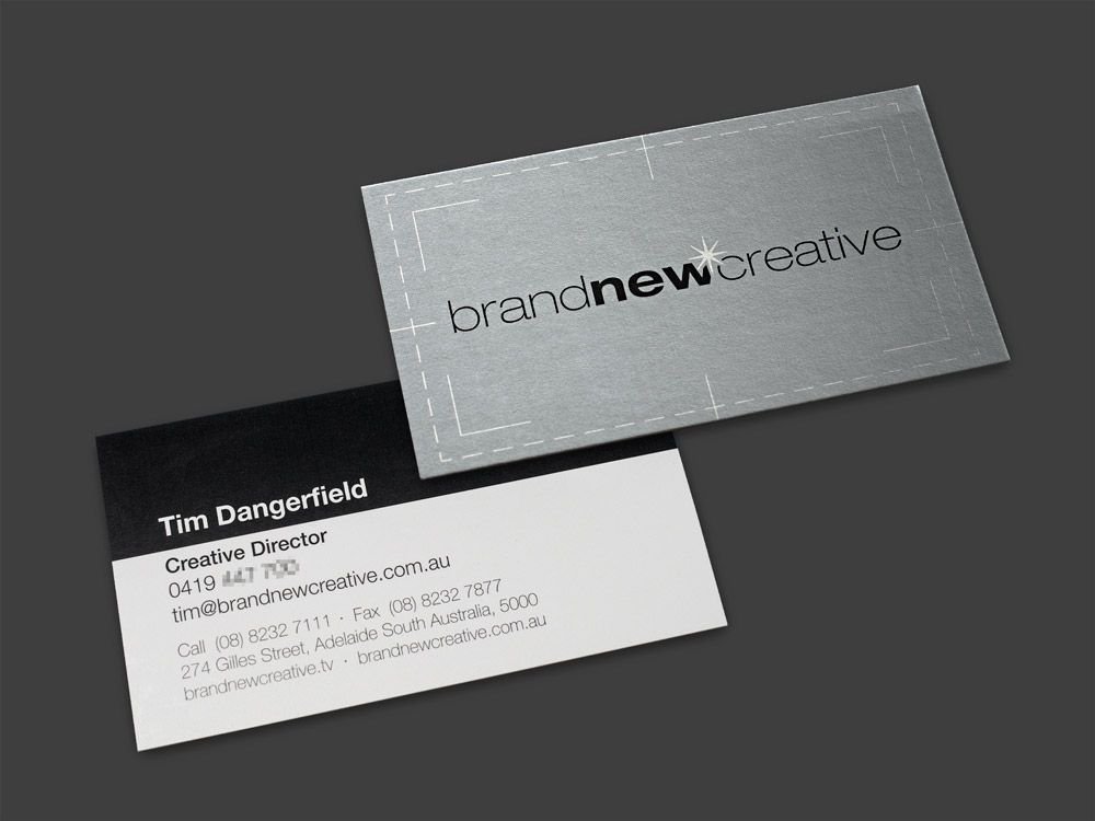Brand New Creative Business Cards