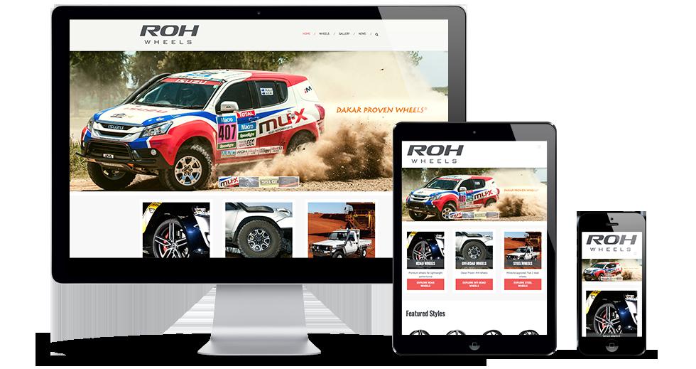 ROH Responsive WordPress Website