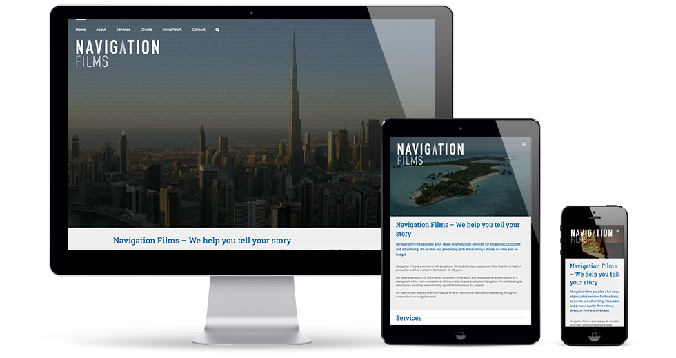 Navigation Films Website