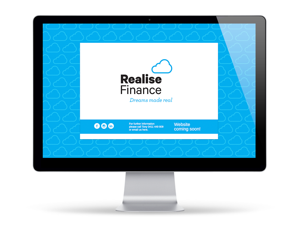 Realise Finance Holding Page