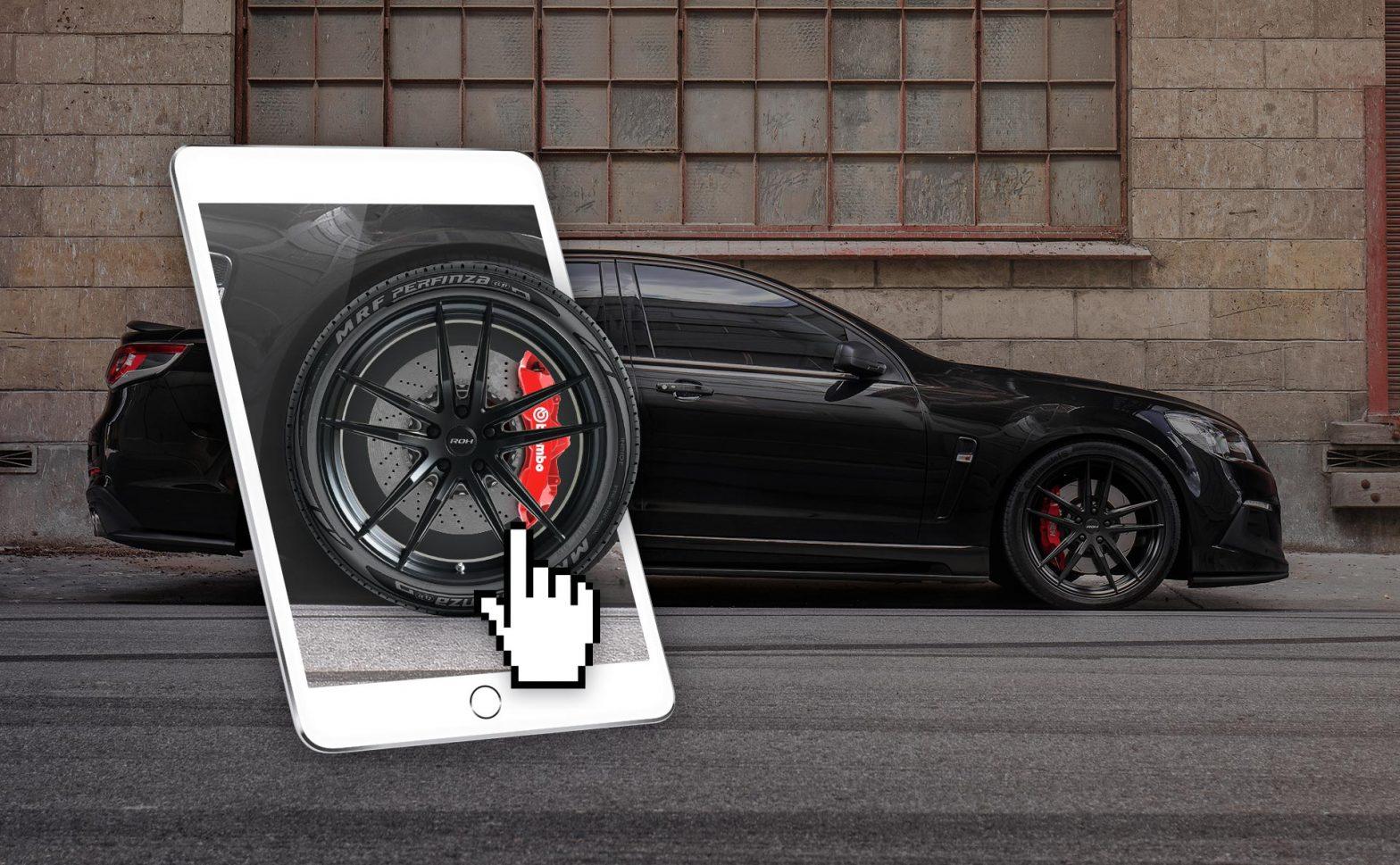 ROH Wheel Visualiser
